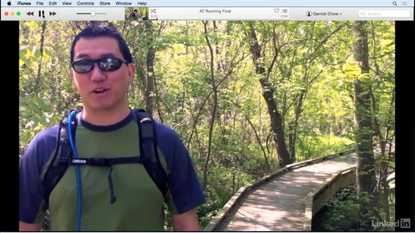 Explore the other sharing options: iMovie 10.1.1 Essential Training