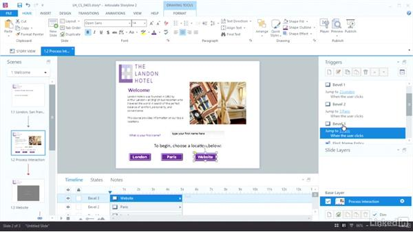 Insert a web object: Articulate Storyline 2 Advanced Techniques