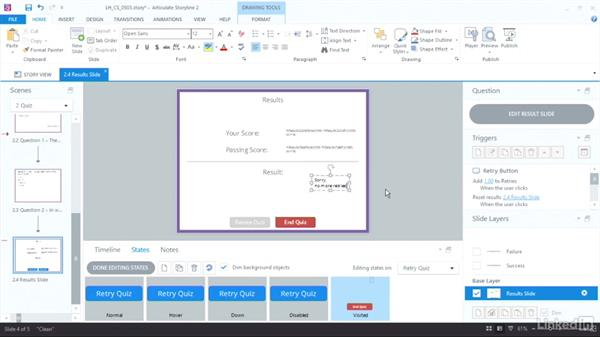 Create a number variable: Articulate Storyline 2 Advanced Techniques