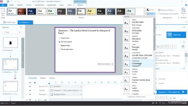 Create a font family: Articulate Storyline 2 Advanced Techniques