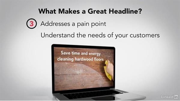 Write effective headlines: Writing Ad Copy