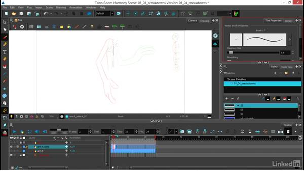 Using the Clone layer for breakdowns: Traditional 2D Animation in Harmony