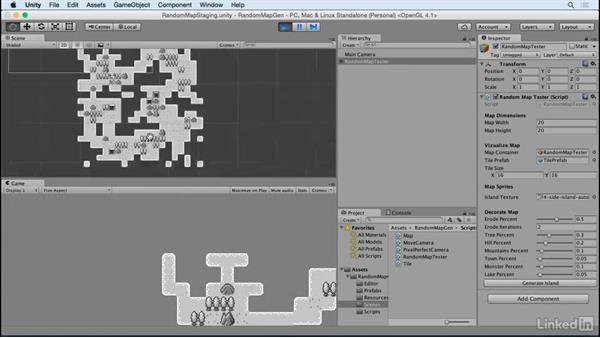 Welcome: Unity 5 2D: Random Map Generation