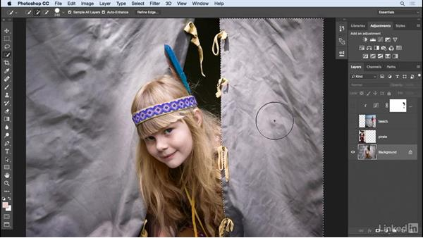 Blend layers: Photoshop: Create a Portrait Collage