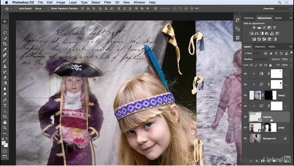 Add additional elements: Photoshop: Create a Portrait Collage