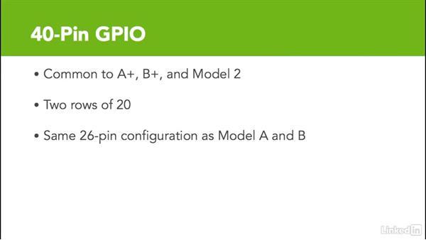 Locate the GPIO on the Raspberry Pi: Raspberry Pi GPIO In Depth