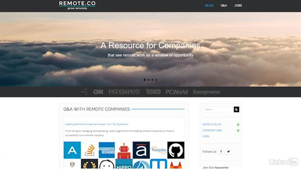 Find sites with legitimate opportunities: Finding a Remote Job