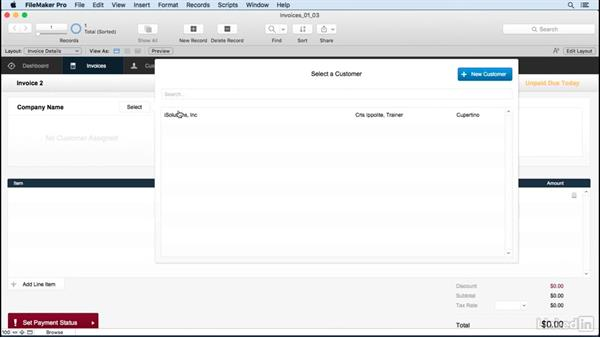 Review how FileMaker works: FileMaker Pro 15 Essential Training