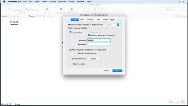 Use field auto-enter options: FileMaker Pro 15 Essential Training