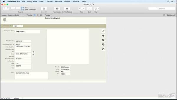 Understand states: FileMaker Pro 15 Essential Training