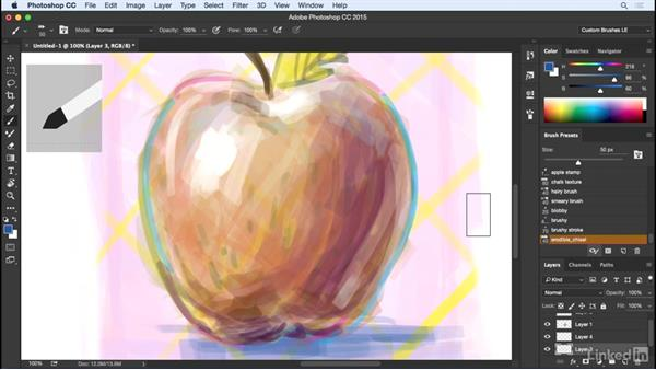 Painting with Erodible tips: Customizing Brushes in Photoshop
