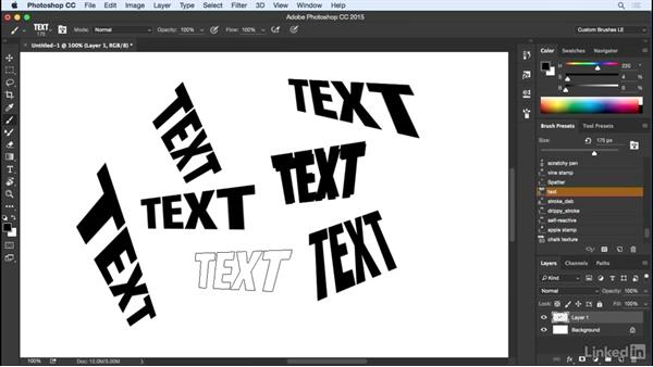 Distorting a tip with Brush Projection: Customizing Brushes in Photoshop