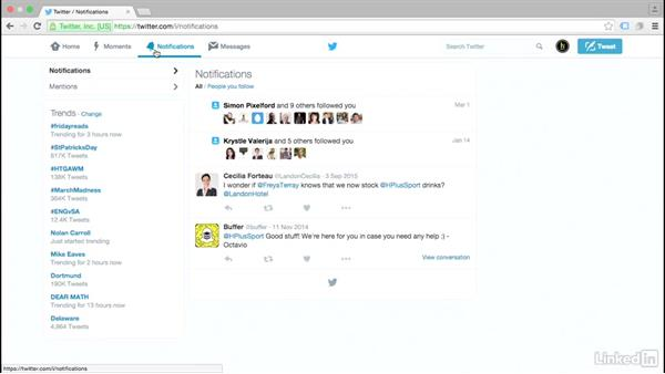 Tour the interface: Twitter for Business