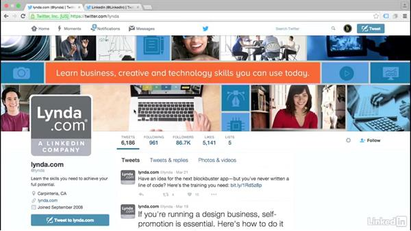 Use your profile to build brand presence: Twitter for Business