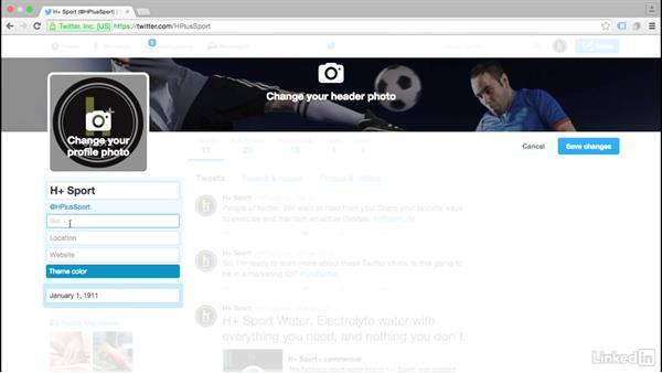 Create your Twitter bio: Twitter for Business