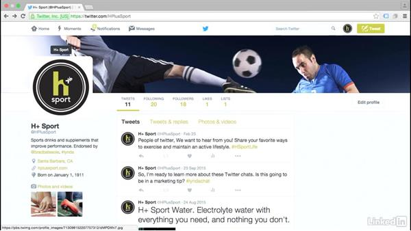 Customize your profile design: Twitter for Business