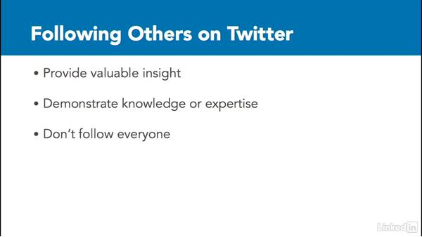 Follow others on Twitter: Twitter for Business