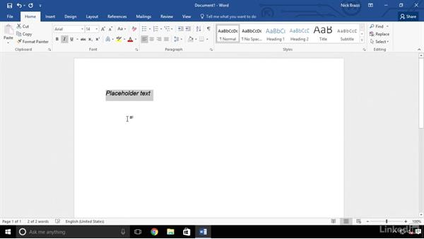 Set a default font for new documents: Word 2016 Advanced Tips and Tricks
