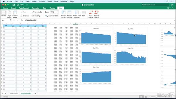 Using the exercise files: Data Visualization Storytelling Essentials