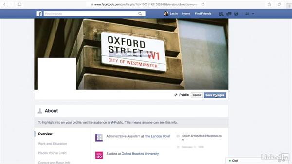 Add a cover photo to your Facebook timeline: Learn Facebook: The Basics