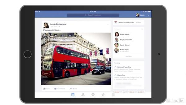 Add photos to Facebook from your mobile device: Learn Facebook: The Basics