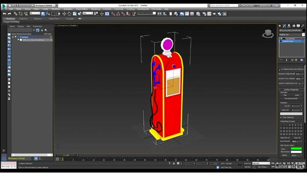 Setting up a mesh for importing into Substance Painter, part 2: Substance Painter: Petrol Pump Game Asset