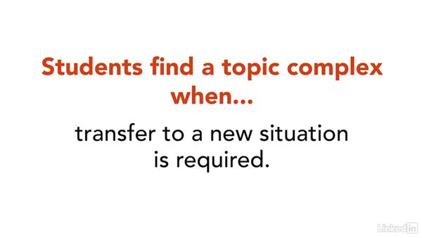 Complex content from a student's point of view: How to Teach Complex Topics