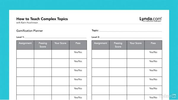 Gamification: How to Teach Complex Topics