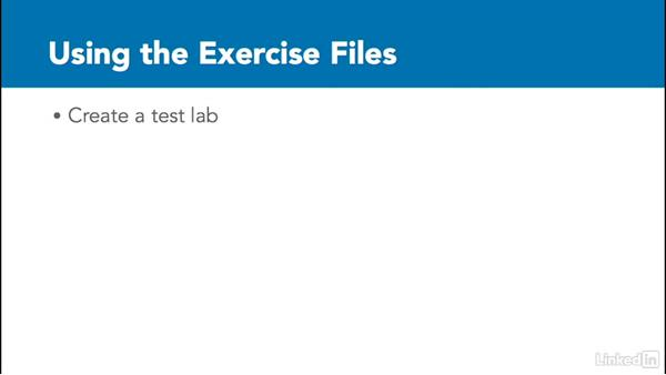 Using the exercise files: Understanding PowerShell 5.0