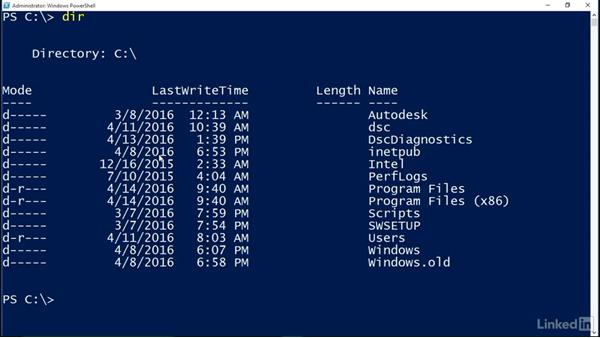 Discovering cmdlets and aliases: Understanding PowerShell 5.0