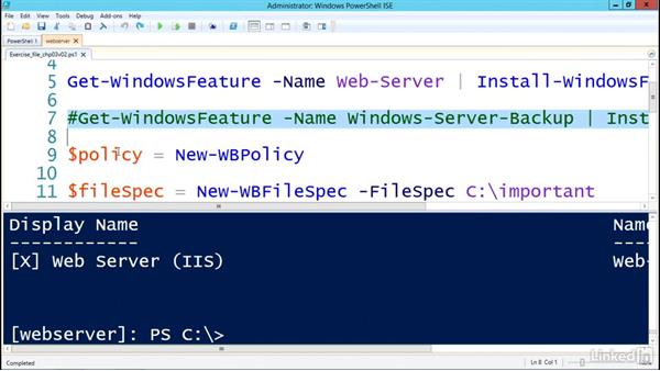 Server cmdlets: Understanding PowerShell 5.0
