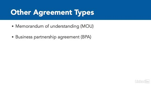 Vendor agreements: CompTIA Security+ Exam Prep (SY0-401): Compliance and Operational Security