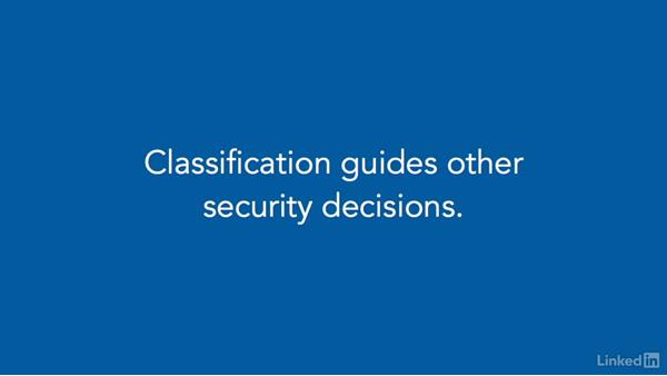 Information classification: CompTIA Security+ Exam Prep (SY0-401): Compliance and Operational Security
