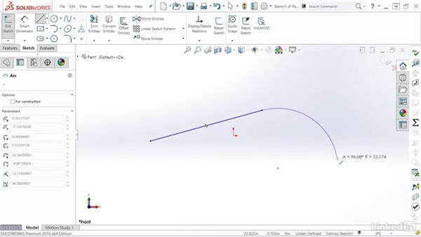 Quick switching between lines and arcs: SOLIDWORKS: Tips & Tricks