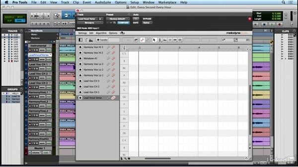 Recording and transferring audio: Learn Melodyne 4: The Basics
