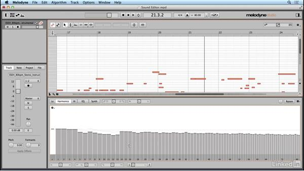 Unleashing the sound editor: Learn Melodyne 4: The Basics