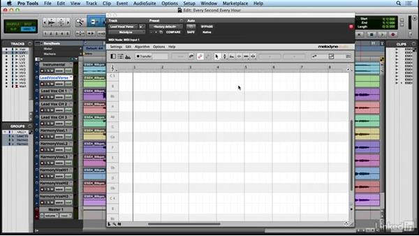 Exporting audio: Learn Melodyne 4: The Basics