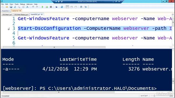 Welcome: PowerShell Desired State Configuration Essential Training