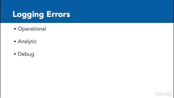 Logging errors: PowerShell Desired State Configuration Essential Training