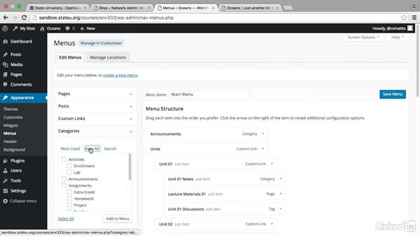 Customizing template-based sites: WordPress in the Classroom: Multisite