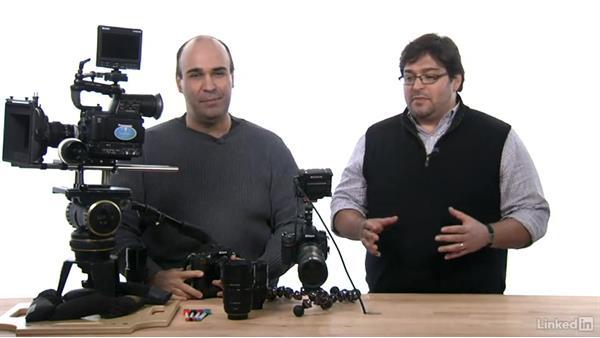 Using a prime lens: DSLR Video Tips: Cameras & Lenses