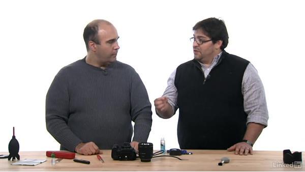Cleaning the sensor: DSLR Video Tips: Cameras & Lenses