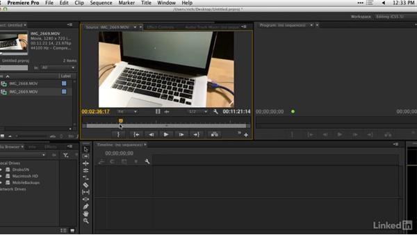 Assembling footage: DSLR Video Tips: Cameras & Lenses