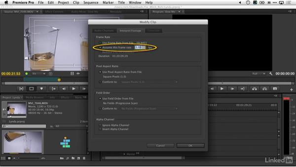 Slow motion in Premiere Pro: DSLR Video Tips: Cameras & Lenses