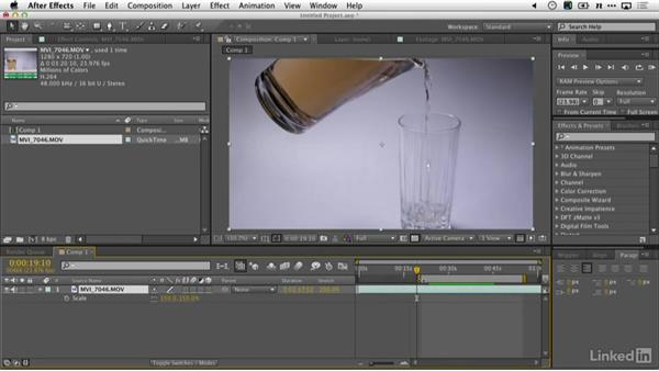 Slow motion in After Effects: DSLR Video Tips: Cameras & Lenses