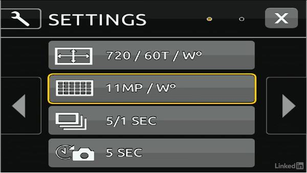 Essential menu commands: DSLR Video Tips: Cameras & Lenses