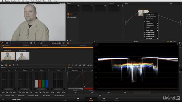 Matching log footage: DSLR Video Tips: Cameras & Lenses