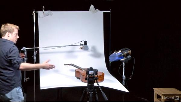 Using compact lighting: DSLR Video Tips: Cameras & Lenses
