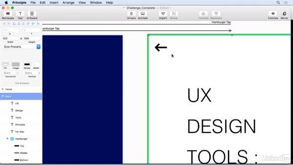 Challenge: Solution: UX Design Tools: Principle