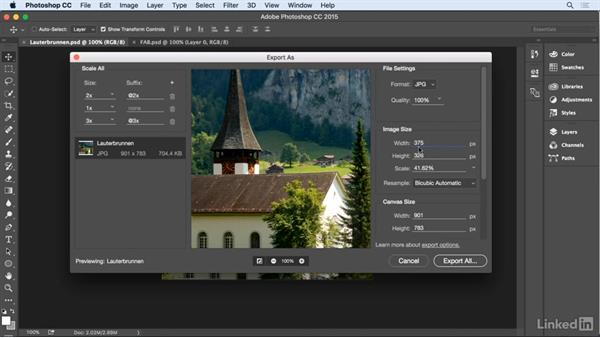 Creating assets in Photoshop: UX Design Tools: Principle